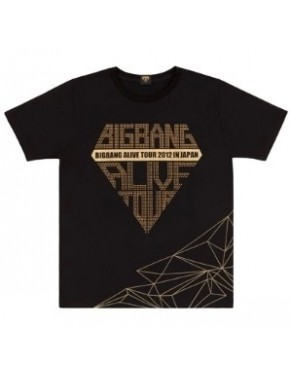 Camiseta Big Bang Alive Tour Japan 2012