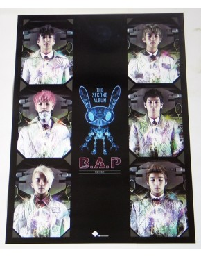 B.A.P - POWER (2nd Single Album) Tipo B OFFICIAL POSTER
