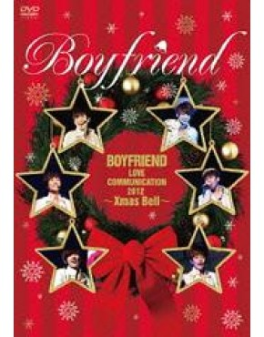 BOYFRIEND Love Communication 2012 -Xmas Bell ( Limitada com camiseta)