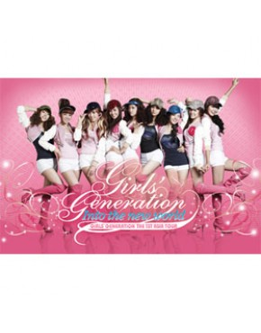 Girls` Generation : The 1st Asia Tour [Into The New World] 2DVD