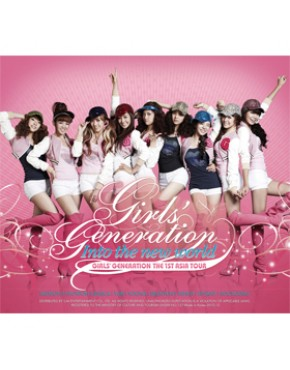 GIRLS' GENERATION - INTO THE NEW WORLD (THE 1ST ASIA TOUR) [2CD]