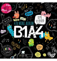 B1A4 - Mini Album Vol.4 [What`s Going On?] CD