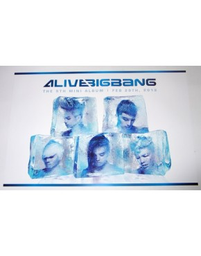 BigBang - ALIVE (5th Mini Album) OFICIAL POSTER