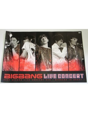 BigBang - The Great: 2008 2nd Live DVD OFICIAL Poster