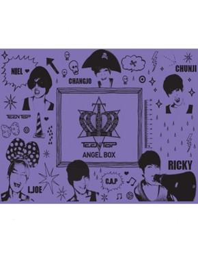 TEEN TOP - Angel Box (160p Photobook+1 DVD+Diary+Note+Pencil Set+Clear File+Sticker)