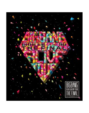Big Bang - 2013 Alive Galaxy Tour Live CD [The Final In Seoul](2CD/Edição limitada)