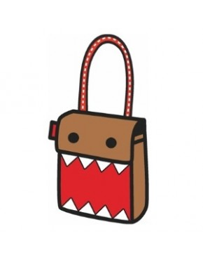 Bolsa 3D Cartoon Domo-kun