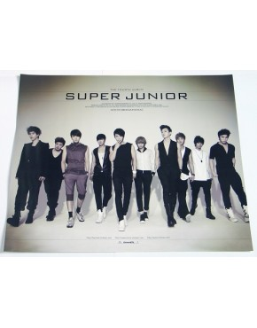 Super Junior  BONAMANA Tipo C OFFICIAL POSTER