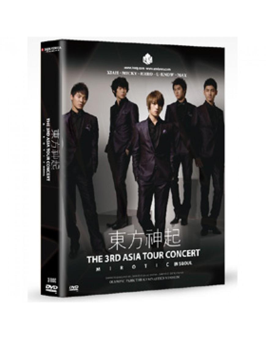 Dong Bang Shin Ki - 3RD ASIA TOUR CONCERT [MIROTIC]  popup