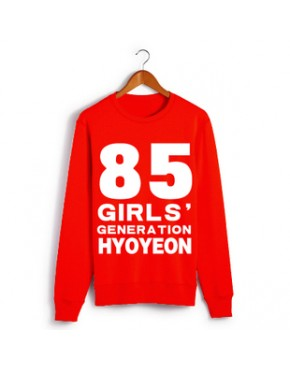Moletom GIRLS' GENERATION NOMES - Hyoyeon