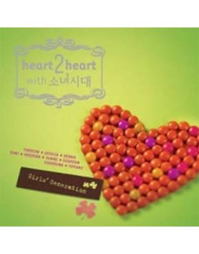 GIRLS' GENERATION Heart 2 Heart with Girls' Generation CD