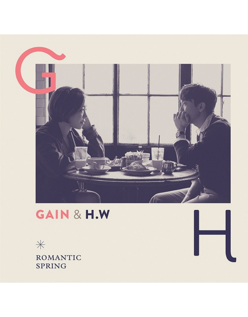 Brown Eyed Girls : GaIn - Duet Mini Album [Romantic Spring] popup