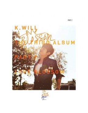 K.Will - Vol.3 [Part.2 : Love Blossom] CD