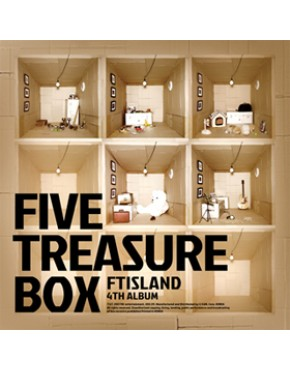 FTISLAND - Vol.4 [Five Treasure Box] CD