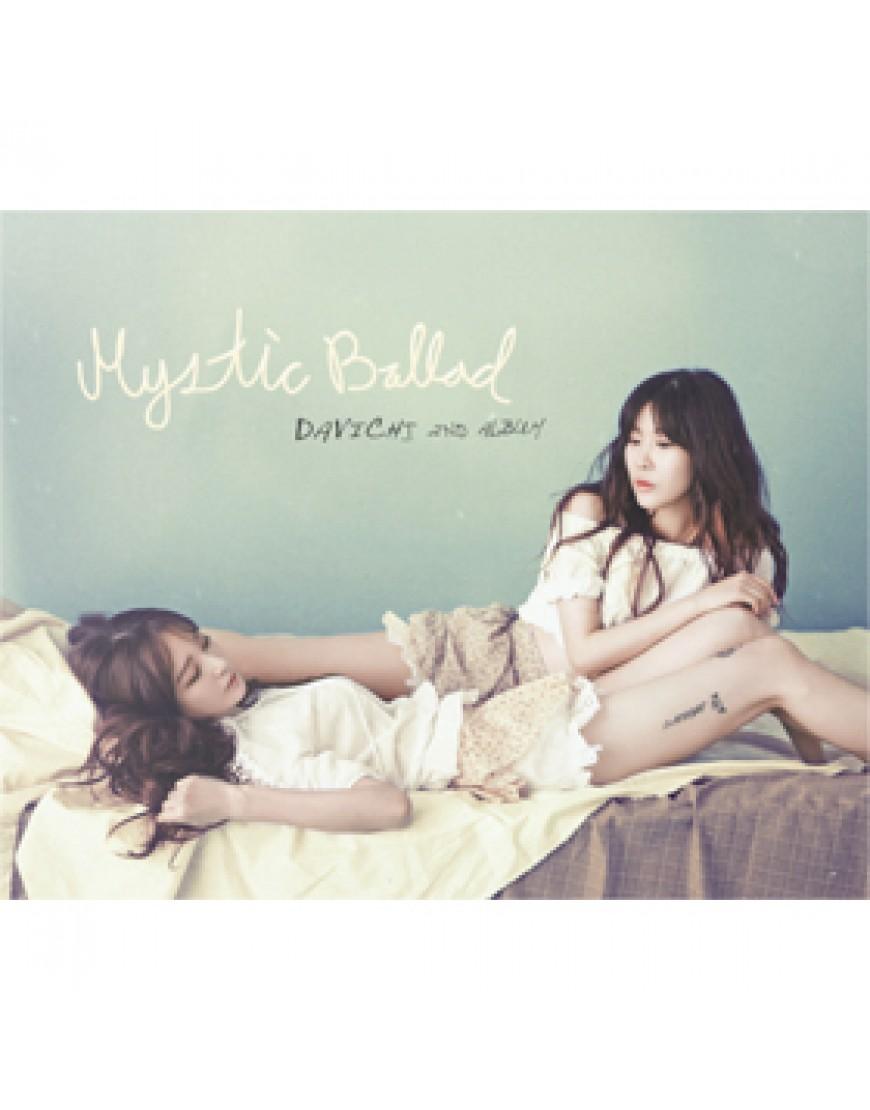 Davichi - Vol.2 [Mystic Ballad CD  popup
