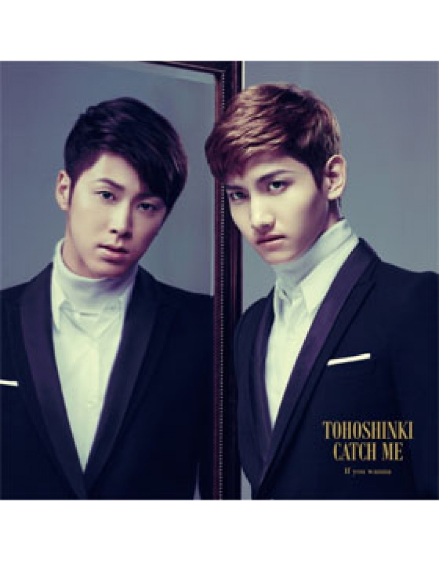 Dong Bang Shin Ki- Japanese Single [Catch Me - If You Wanna] (CD+DVD ) popup