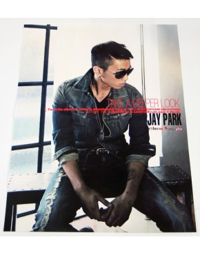 JAY PARK - Take A Deeper Look (1st Mini Album) OFFICIAL POSTER