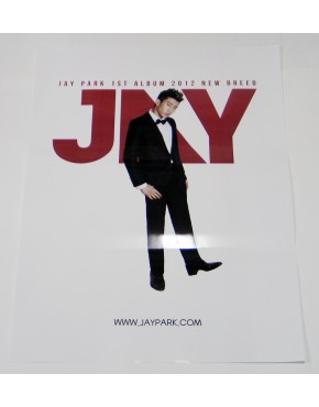 JAY PARK - 2012 New Breed OFFICIAL POSTER Tipo B