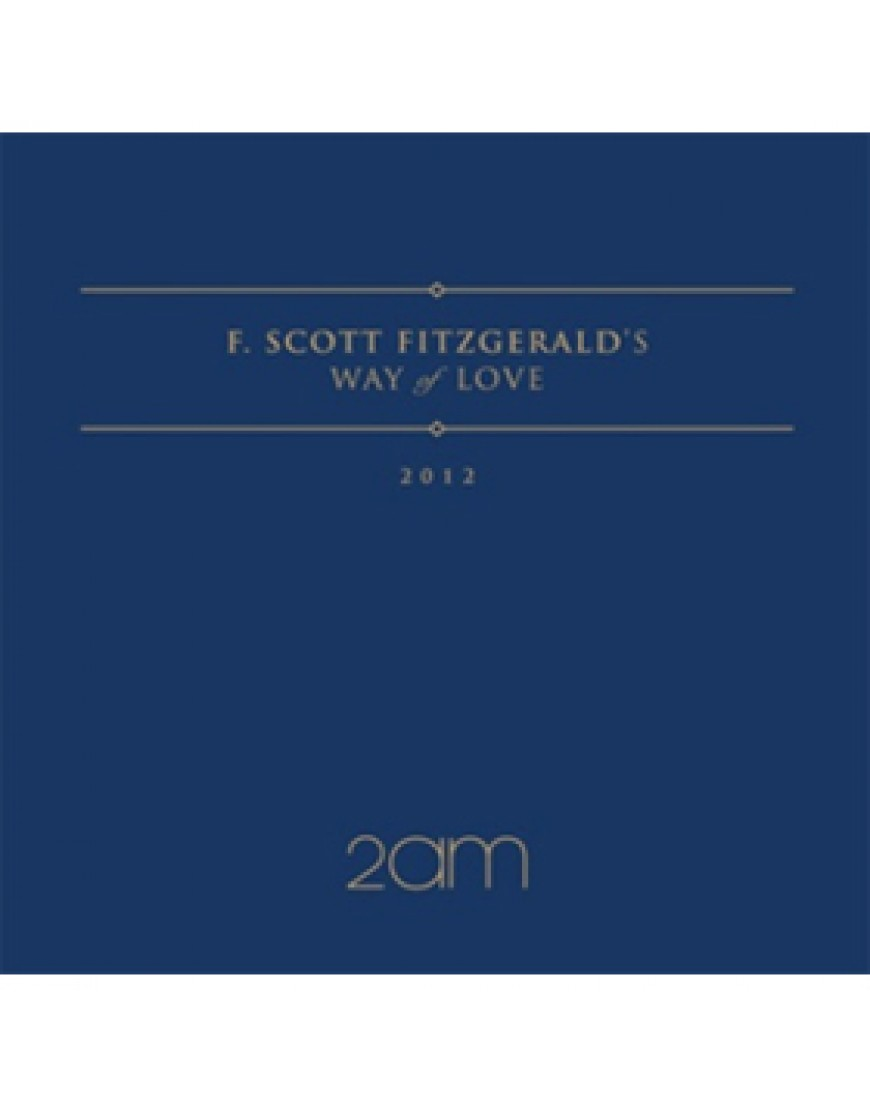 2AM - F.Scott Fitzgerald`s way of love  CD popup