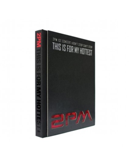 2PM - 1st Concert Making Story Photobook [This Is For My Hottest] 1DVD