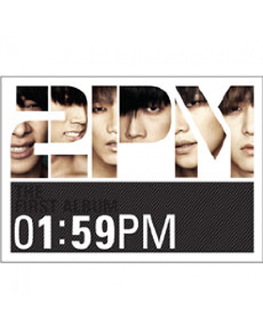 2PM - Vol.1 [01:59PM] CD popup