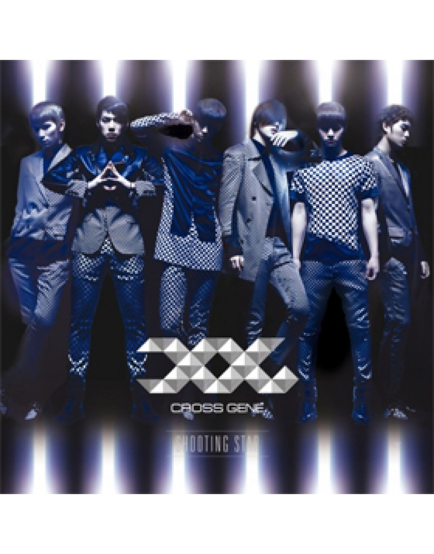 Cross Gene - Japanese Single [Shooting Star] (Limited A) [CD+DVD]  popup