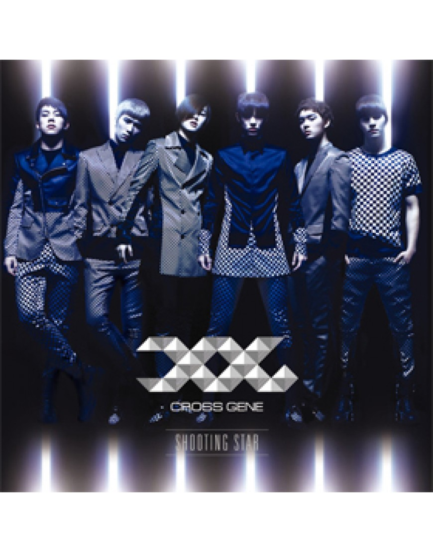 Cross Gene - Japanese Single [Shooting Star] (Limited B) [CD+DVD]  popup