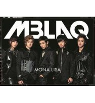 MBLAQ- Mona Lisa -Japan-  (Black) [Limited Edition / Type A]